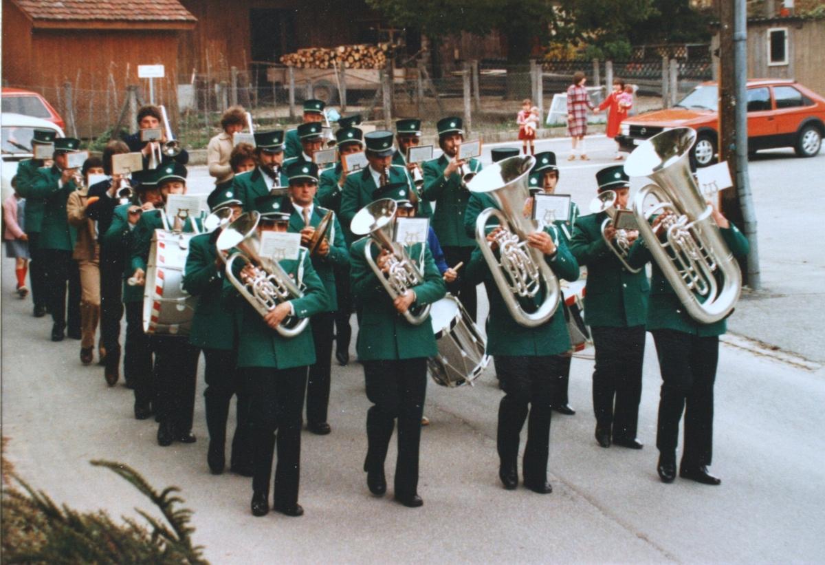 Marsch Umzug in Wintersingen