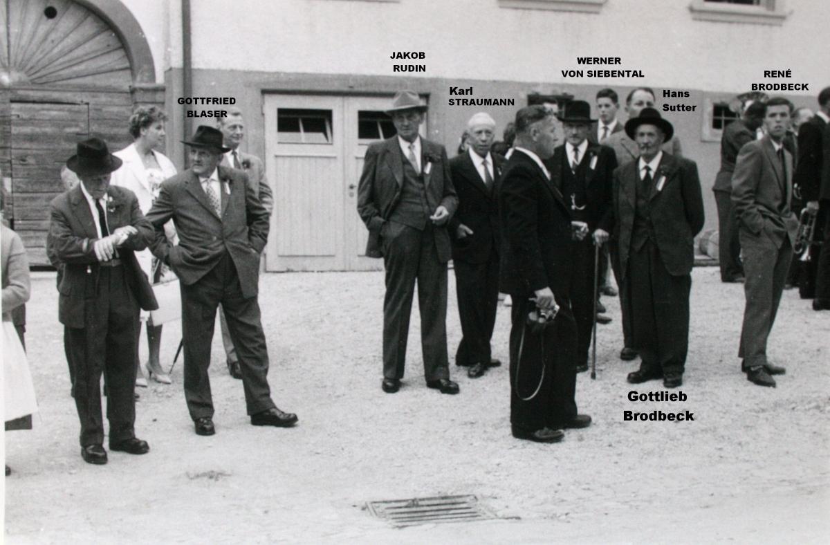 Besuch Bundesrat HP. Tschudin