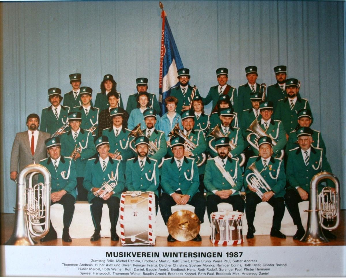 Musikverein Wintersingen 1987