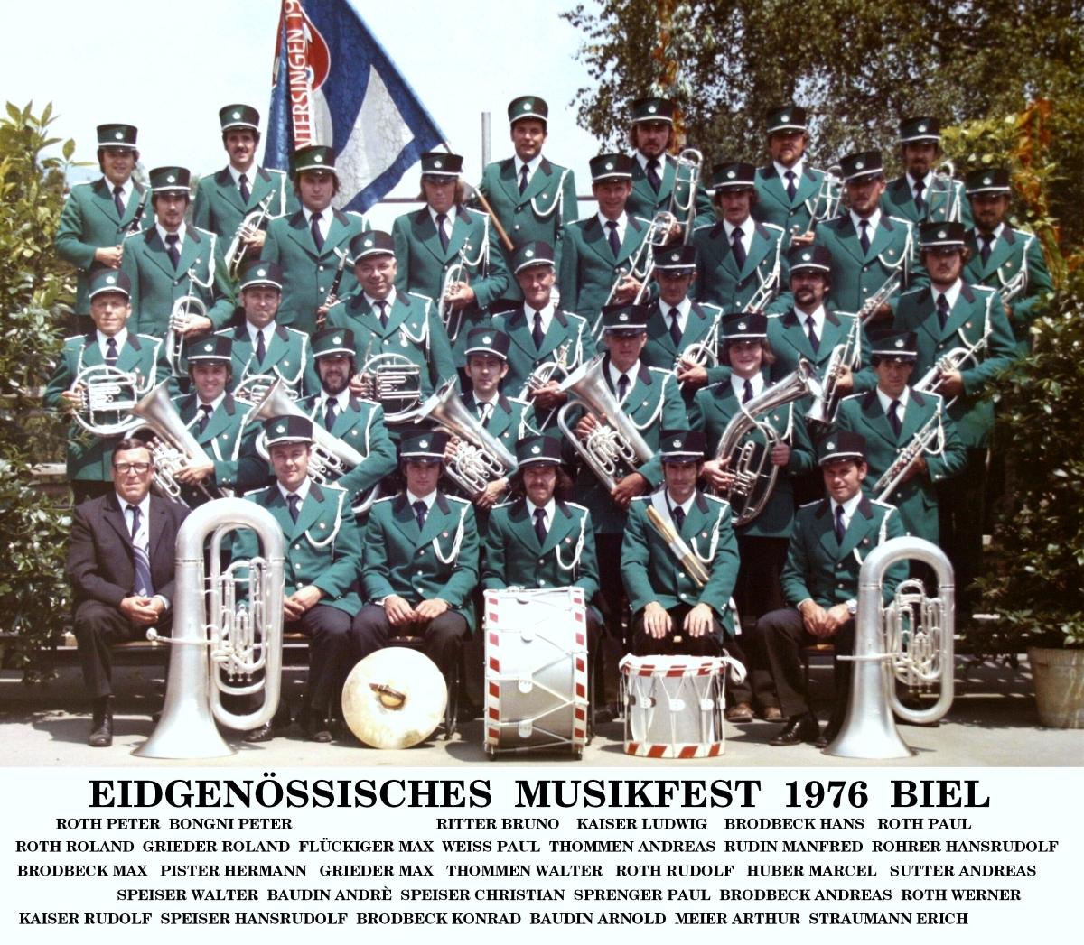 Eidgenössisches Musikfest Biel 1976